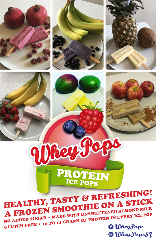 WheyPops - Protein Ice Pops - It's like eating a frozen smoothie on a stick